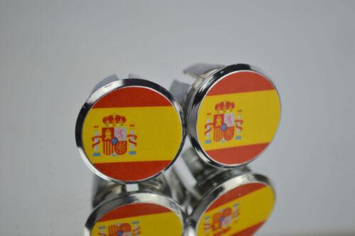 tapones España Spain Flag Handlebar End Plugs Bar Caps lenkerstopfen tappi