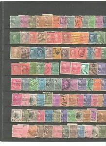 100-timbres-USA-avec-multiples