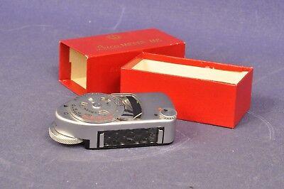 Belichtungsmesser Für M1 M2 M3 Angemessen Leitz Leica Leicameter Mc Lightmeter Defekt