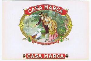 Casa Marche Swan Américain Litho Co Original Non Utilisé Papier Cigare Boîte Ubnuhquj-07223705-238570054
