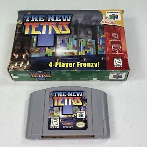 The-New-Tetris-Nintendo-64-N64-Box-and-Cartridge-Only-Tested-Works-0966