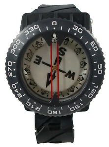 Scuba-Diving-Dive-Underwater-Deluxe-Wrist-Compass