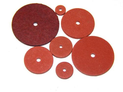 Fiber - Scheiben für Minibären 100 St. á 18 mm - Scheiben für teddygelenke