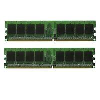 NEW! 4GB (2x2GB) DDR2-800 Desktop Memory PC2-6400 RAM