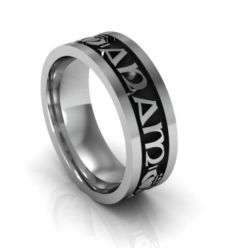 "Sterling Silver Ladies /""Mo Anam Cara/"" Celtic Wedding Ring 6.2mm"
