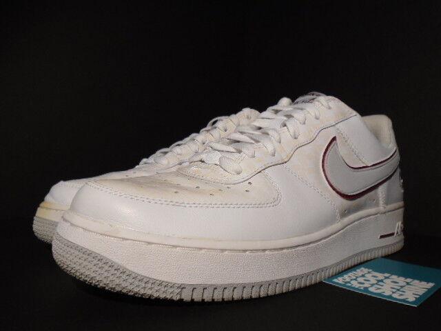 2006 Nike Air Force 1 WHITE COOL GREY ESTADIO ESTADIO ESTADIO RED CHOSEN 1 MATRIX EUROPE 10.5 683867