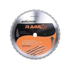 Evolution Power Tools 14 Inch Blade 36 Tooth Carbide Chop Saw Metal TCT Cold Cut