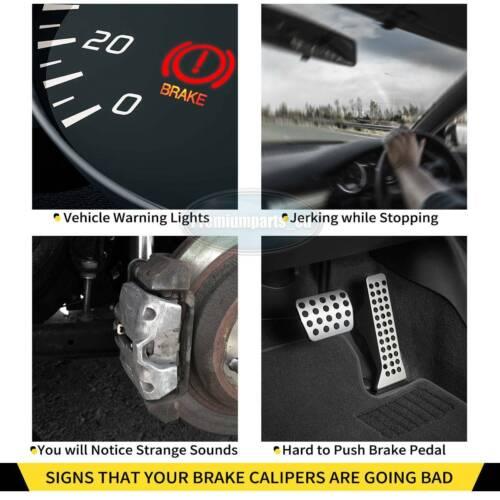 2x Brake Caliper Rear for Renault Espace MK4 Laguna MK2 Vel Satis 7701049108