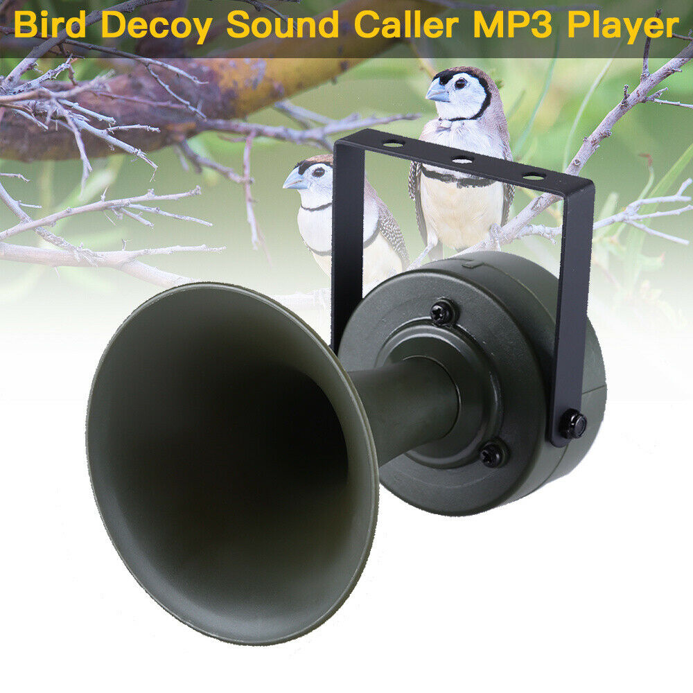 Bird Decoy Sound Caller MP3 Player Hunting Quail Calls Sounds Predator Equipment