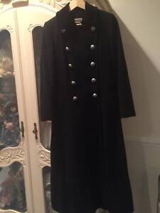 size 8 To Classic Cashmere 6 Wool Size Black 38 Eu Us Vintageyessica Coat And zqFxPZZw