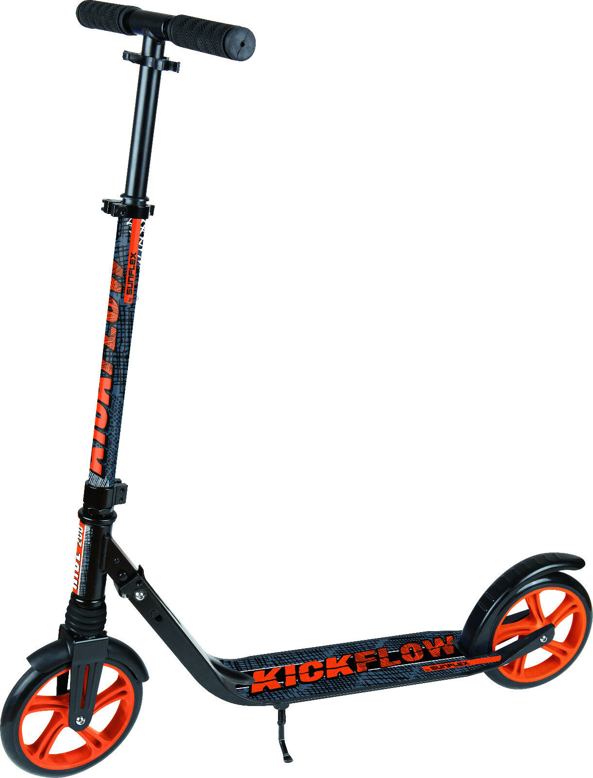 Kickflow Scooter Patinete Scooter Naranja Plegable a partir de 8 Años
