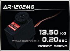 NUOVO SERVO ROBOT POWER HD CON INGRANAGGI IN METALLO 13.5Kg 0.20 sec. AR-1202MG