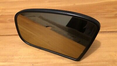 00-02 MERCEDES BENZ W220 S430 S500 DRIVER SIDE LH HEATED AUTO DIM MIRROR GLASS