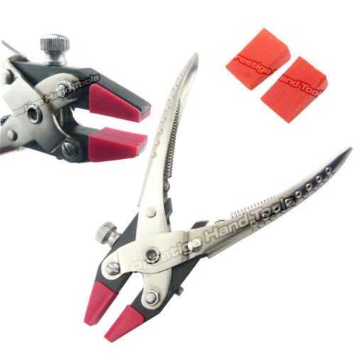Parallel flat nose pliers with adjustable Double Nylon Jaws Prestige 6.5#0858