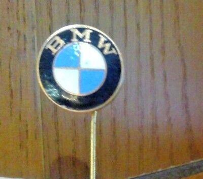 Antique 1980/'s BMW CAR MOTORCYCLE EMBLEM Lapel Hat Pin free ship