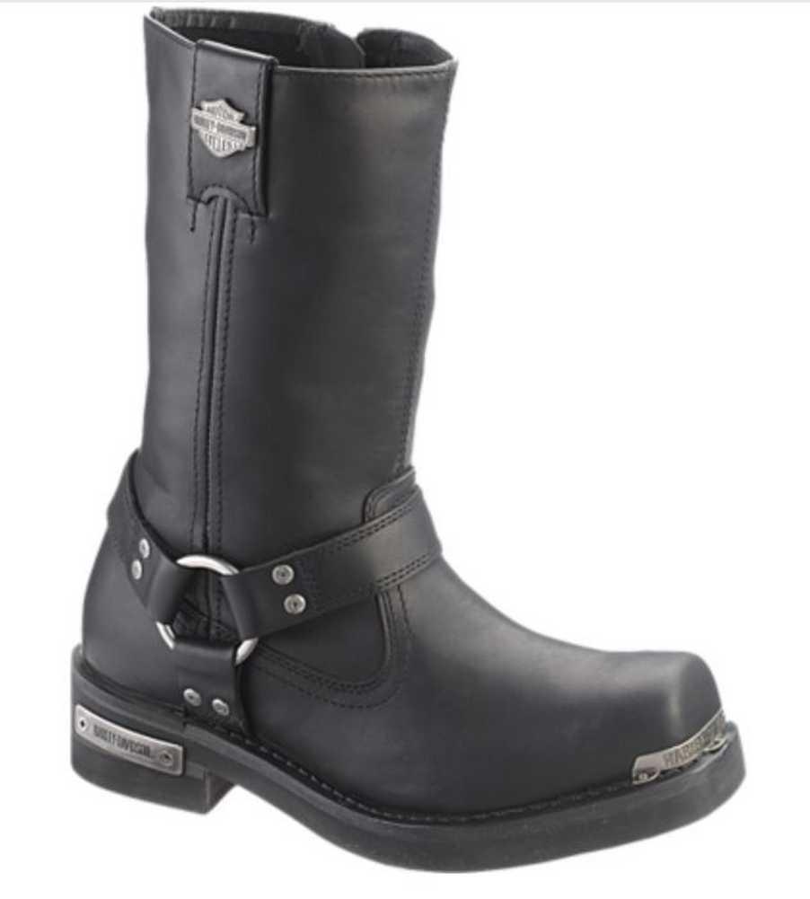 Harley-davidson Para Hombre Landon 10 Pulgadas botas Motocicleta Negro, Marrón d96047 d96051
