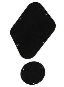 Noir-Plaque-Arriere-Set-Pour-Usa-Gibson-Les-Paul-guitares