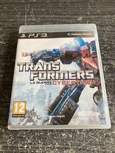 Jeu-PS3-Transformers-La-Guerre-Pour-Cybertron