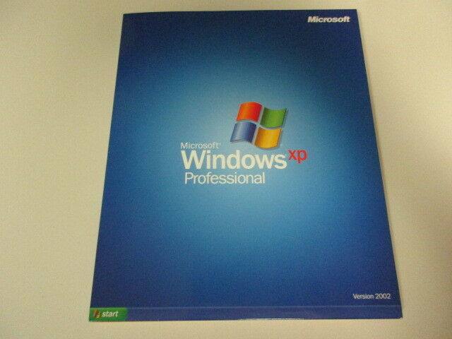 Microsoft Windows XP Professional Version 2002 W/product ...