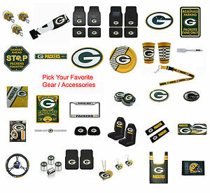 Brand-New-NFL-Green-Bay-Packers-Pick-Your-Gear-Accessories-Official-Licensed