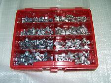 325tlg Nietmuttern Sortiment Alu und Stahl mit kleinem Senkkopf in Kunststoffbox