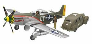 Tamiya-89732-North-American-P-51D-Mustang-amp-US-Army-Staff-Car-1-48-scale-kit