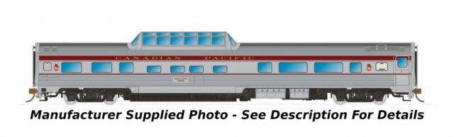 Rapido 550108 N The Canadian Skyline Dome-Coach - Canadian Pacific / CP Maroon