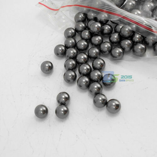 100Pcs 5MM Catapult Slingshot Grade 100 G100 Steel Ball Bearing Replacement Ammo
