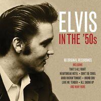 Elvis Presley In The '50s 3 CD Set hound Dog Don't Be Cruel Love me Tender +More