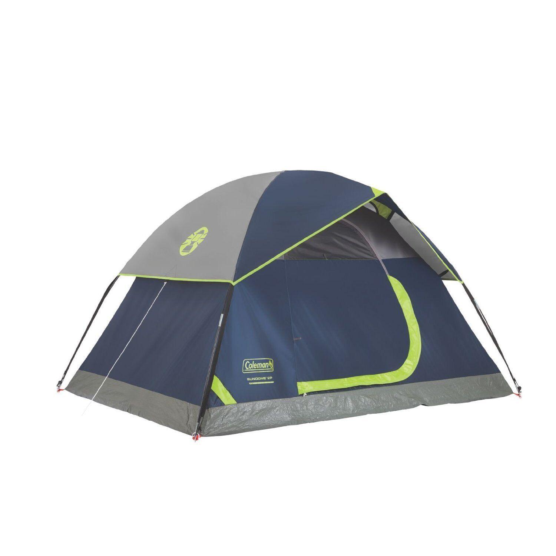Coleman Sundome 2 Tent 7x 5 Foot, bluee 2000024579