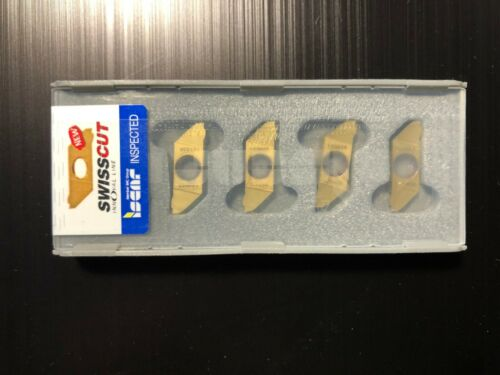 SCIR 22-100N-00 IC1008 Carbide inserts ISCAR 5 Pcs//Pack