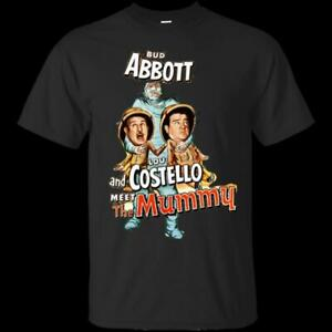 catch outlet store sale classic shoes Details about Abbott And Costello Meet The Mummy T-Shirts Cotton M-3XL US  Men's Clothing Trend
