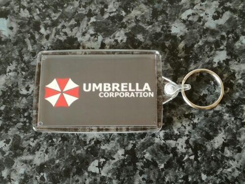 NEW Resident Evil Umbrella Logo Jumbo Keyring Zombie Memorabilia