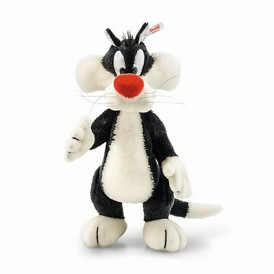 Steiff Warner Bros. Sylvester Cat Looney Tunes EAN 354663 Limited Edition Gift