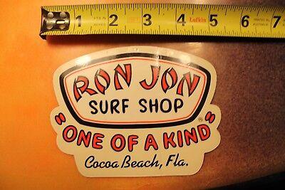 1990 Bumper Sticker Ron Jon Surf Shop Neon Sticker Cocoa Beach Decal Beach Sticker Florida Vintage Spring Break Sticker Ocean