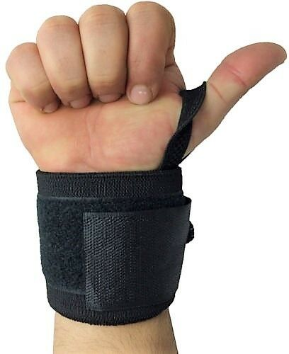 Weight Lifting Wrist Wraps Power Gym Training Straps Hand Bar Grip Support Brace