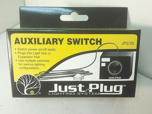 Auxiliary Switch Model Railroad TM Woodland Scenics JP5725 Just Plug