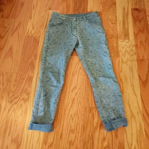 isabel marant floral print jeans