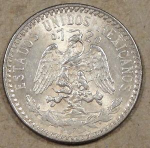 1920 Mexico 20 Centavos AU