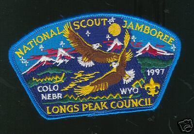 MINT 1997 JSP Longs Peak Council Turquoise Border