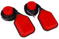 2 Pcs Temco Liquid Or Water Level Float Switch Sensor Sump Tank Controller Lot