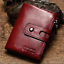 Men-Women-Genuine-Leather-Cowhide-Trifold-Wallet-Credit-Card-ID-Holder-Purse-New thumbnail 3