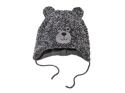 Baby Girl Winter Hat Cream bear  size 2-24Months Hats 62//92