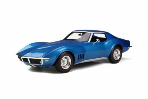 Chevrolet Corvette C3 1972 blau 1:12 GT-Spirit GT255 neu /& OVP