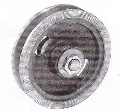 Schiebetorrolle ohne Bügel 140mm Türrolle Schiebetürbeschlag Torrolle GussRolle