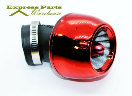 USA SELLER! Red 44mm Performance Air Filter For GY6 150cc ATV Scooters Go karts