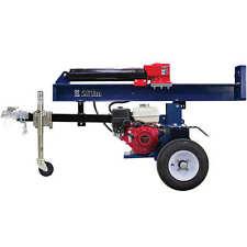 Iron & Oak 26-Ton Honda Powered Horizontal/Vertical Gas Log Splitter w/ Torsi...