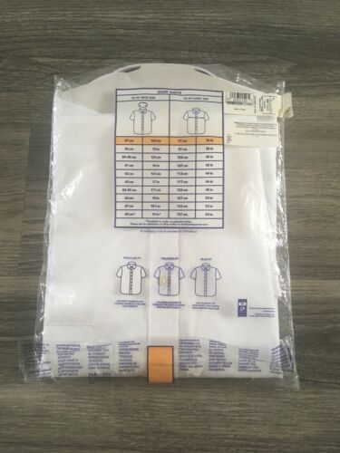"""M/&s collection BLANC NON IRON Chemise à manches courtes Taille 14 1//2/"""" RRP £ 25.00"""