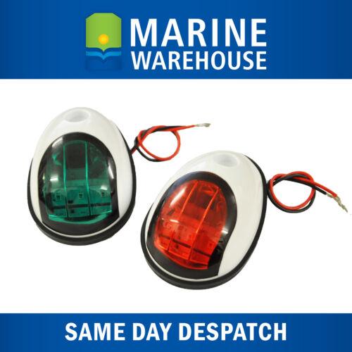 LED Navigation Lights White sealed Plastic Shroud 705686 IP 68 Resistant