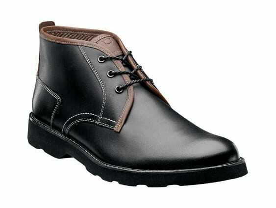 Florsheim Men's Casey Chukka Boot Black Leather